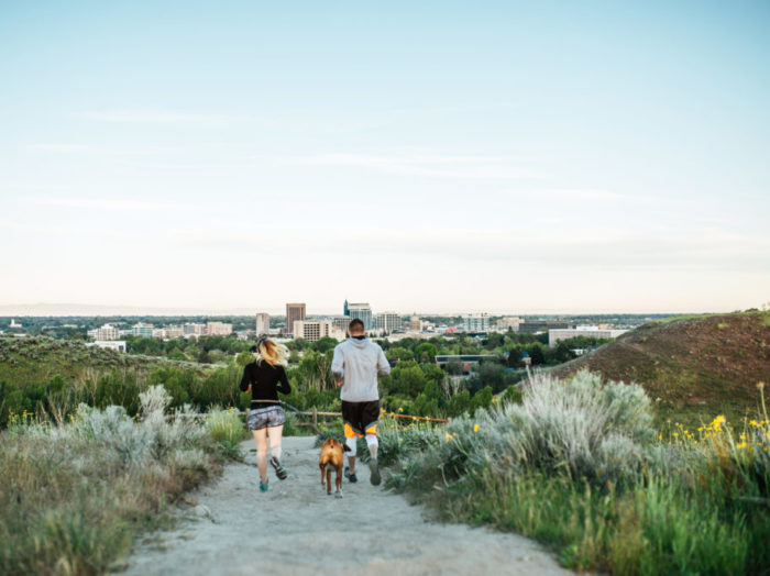 Military Reserve, Ridge to Rivers Trail System, Boise. Photo Credit: Idaho Tourism