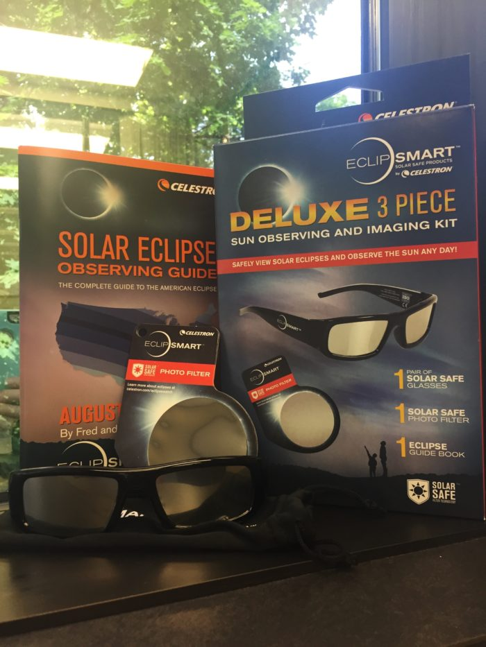 eclipse glasses and camera filter