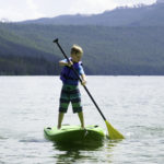 Paddleboarding is so easy to learn that even kids pick it up quickly!