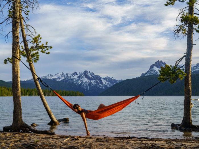 Let your mind and body relax at Redfish Lake.