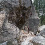 Surround yourself with breathtaking scenery while rock climbing in the Sawtooths.