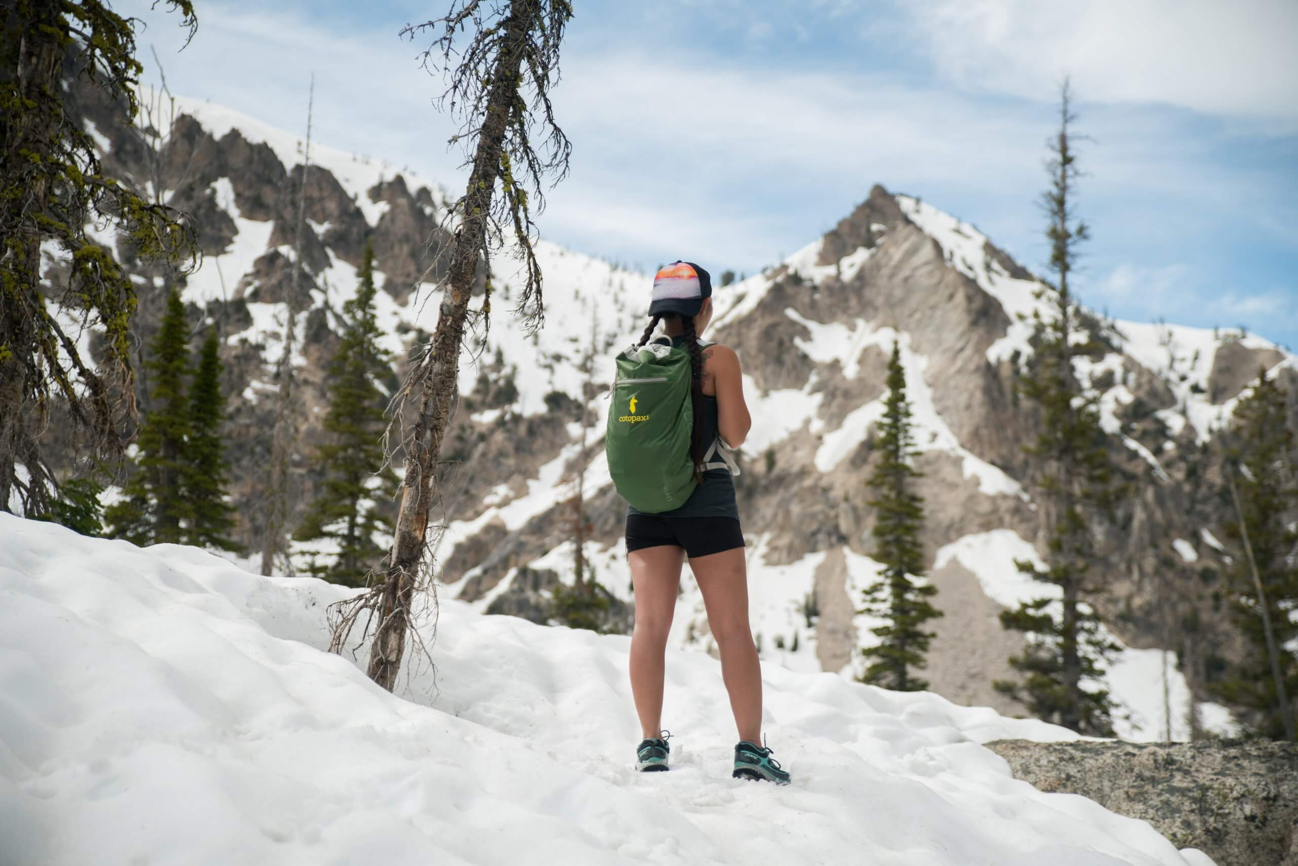 The Sawtooth wilderness has arguably some of the best hiking in Idaho.