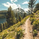 Hiking, Bench Lakes Trail, Near Redfish Lake, Stanley. Photo Credit: Idaho Tourism.