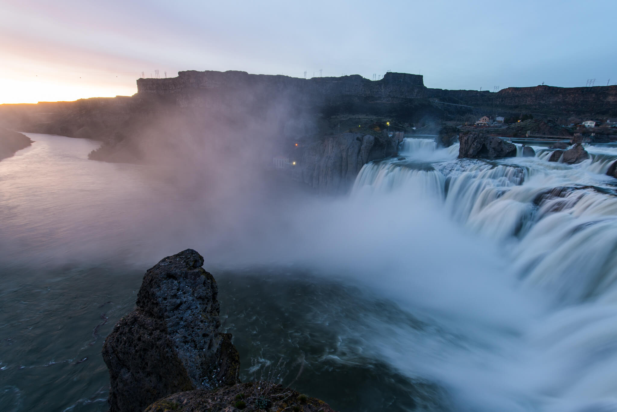 Let Shoshone Falls take your breath away. Photo Credit: Michael Bonocore.