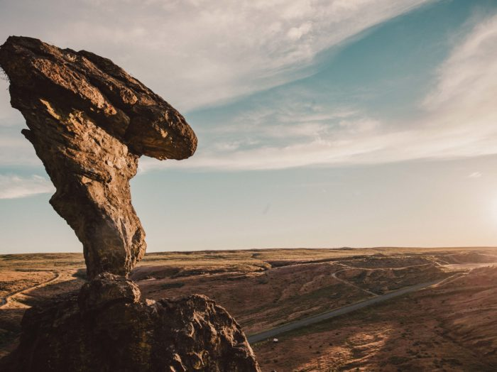 Balanced Rock, Near Twin Falls. Photo Credit: Idaho Tourism.