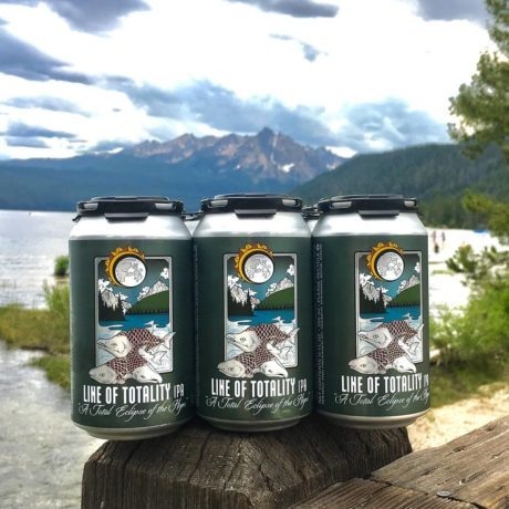 beer cans in the mountains