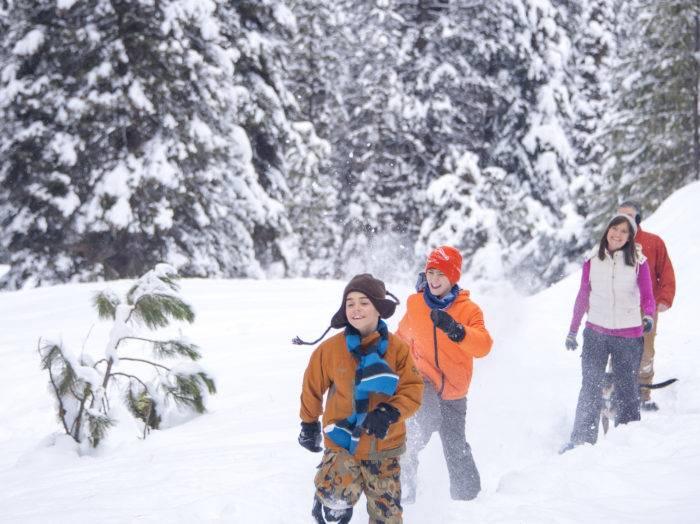 Snowshoeing, McCall. Photo Credit: Idaho Tourism.