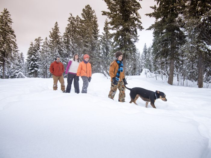 Snowshoeing, McCall. Photo Credit: Idaho Tourism