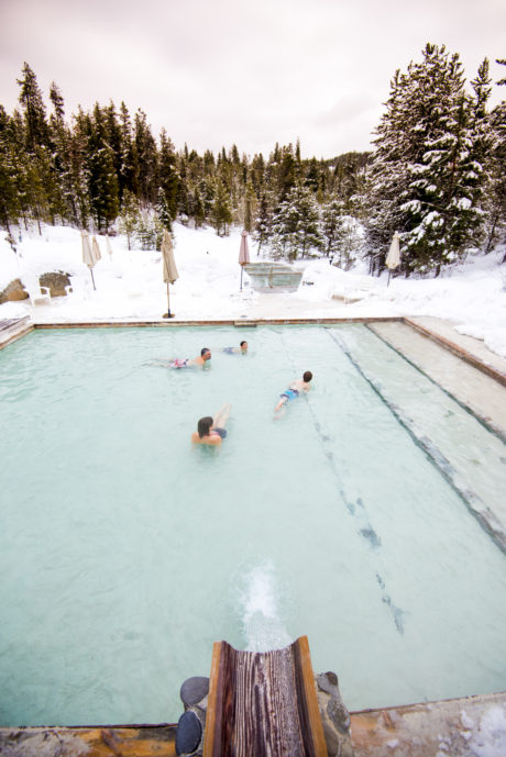 Gold Fork Hot Springs, Near Donnelly.
