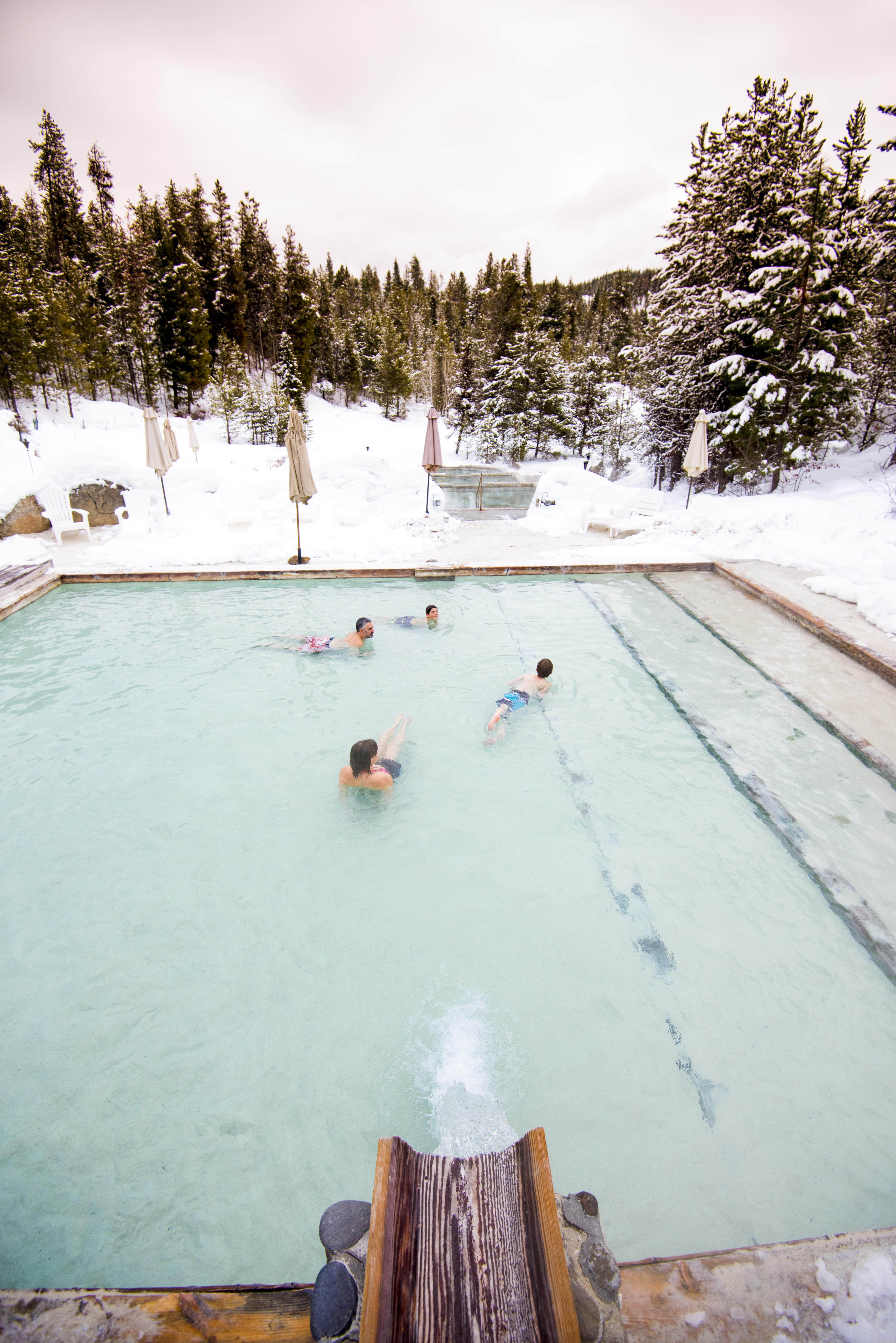 Gold Fork Hot Springs, near Donnelly. Photo Credit: Idaho Tourism.
