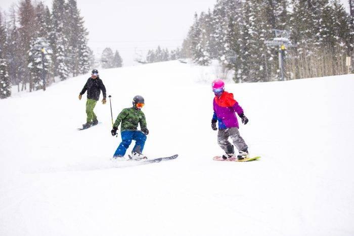 Skiing, Brundage Mountain Resort, Near McCall
