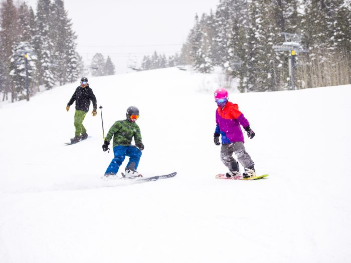Skiing, Brundage Mountain Resort, Near McCall. Photo Credit: Idaho Tourism