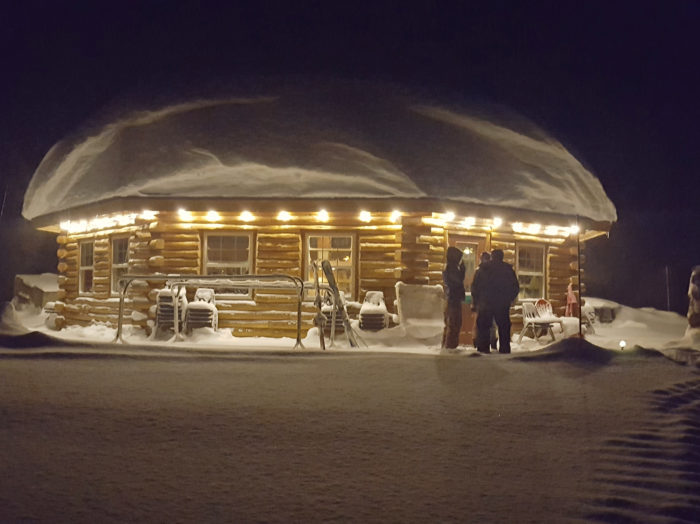 Experience an evening at the Bear's Den. Photo Credit: Brundage Mountain Resort.