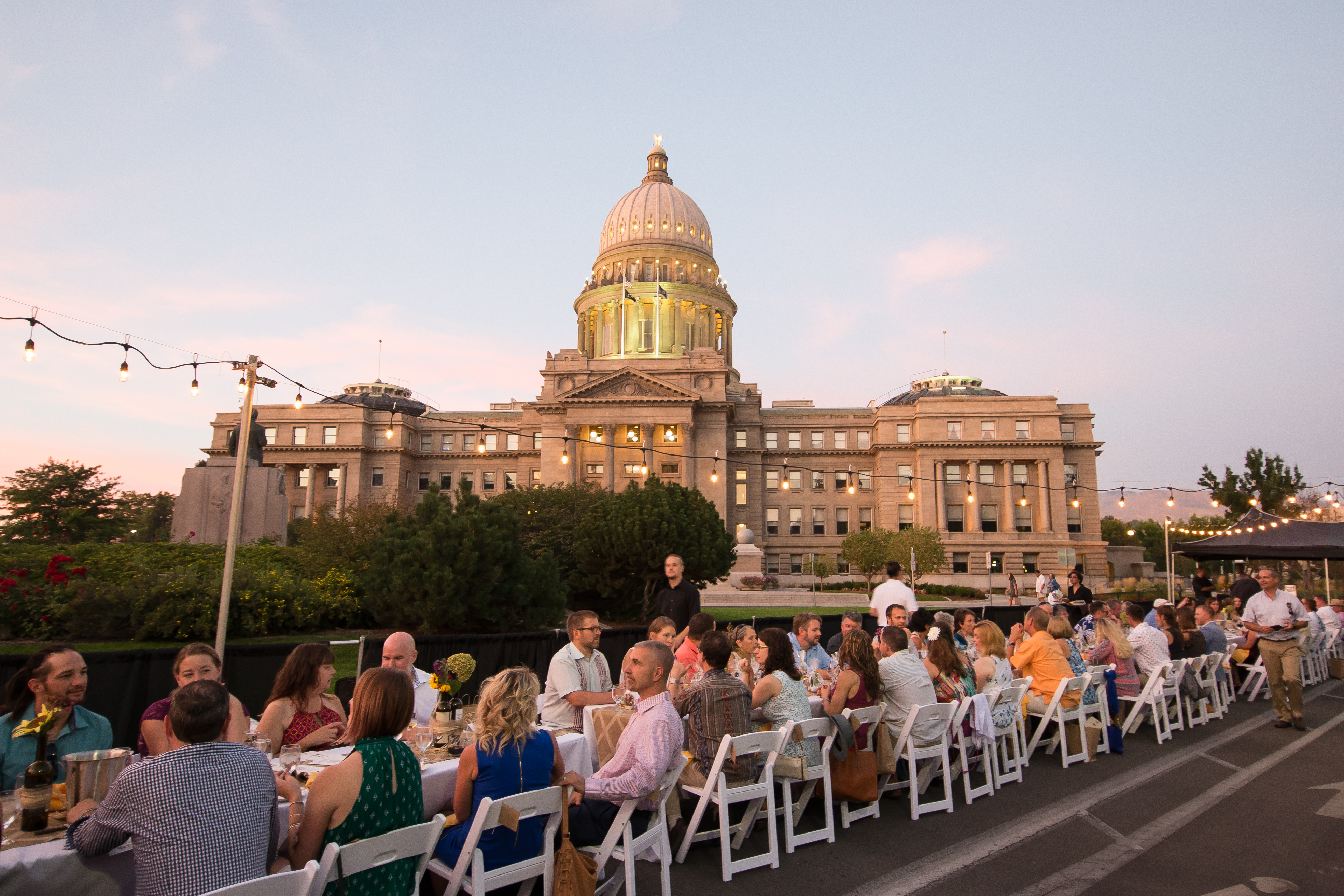 Boise S Capitol Table Dinner Brings Fine Dining Into