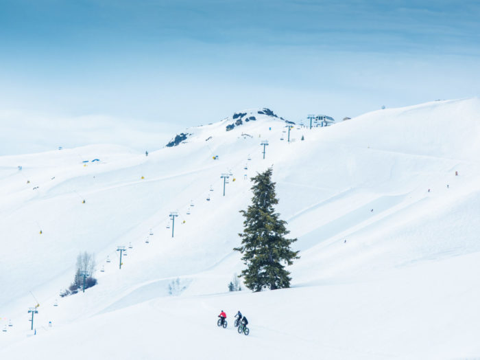 Dollar Mountain in Sun Valley. Photo Credit: Idaho Tourism.