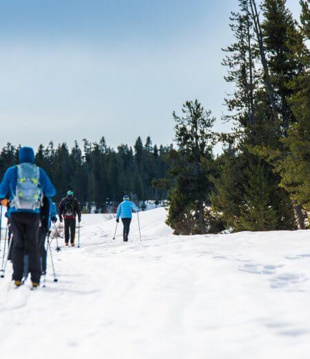 Cross-Country Skiing, Harriman State Park. Photo Credit: Idaho Tourism