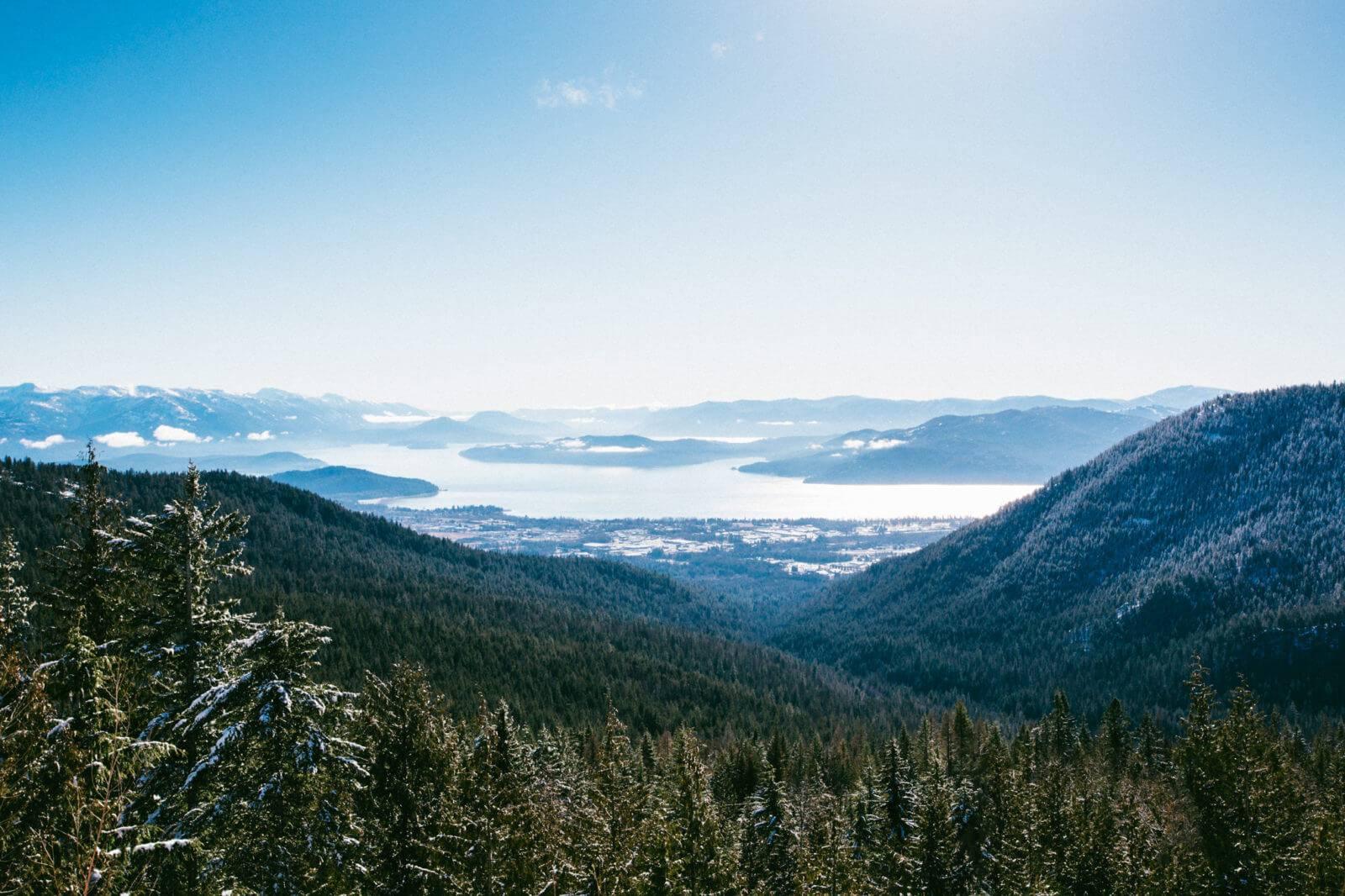 Scenic View of Lake Pend Oreille. Photo Credit: Idaho Tourism