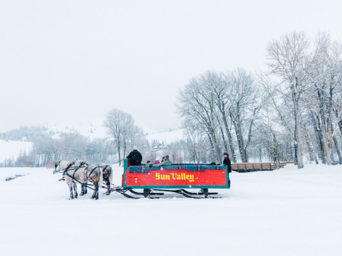 Sun Valley Sleigh Ride, Sun Valley. Photo Credit: Idaho Tourism