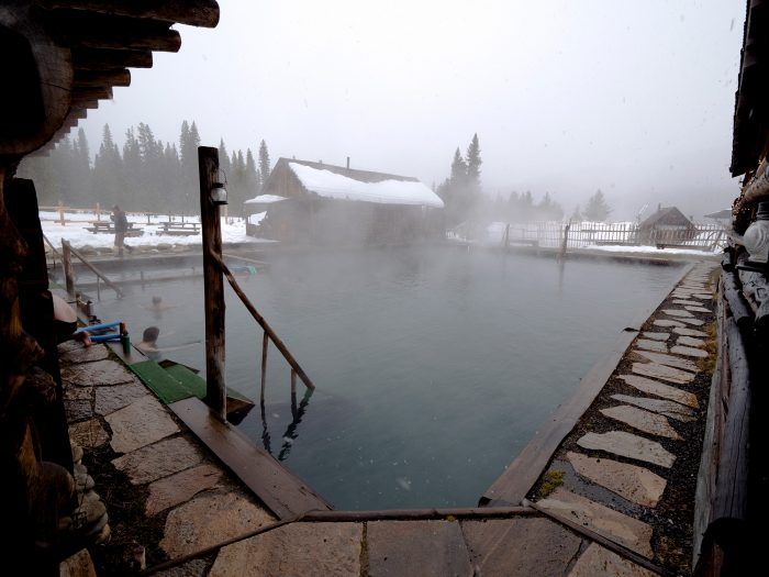exterior of burgdorf hot springs