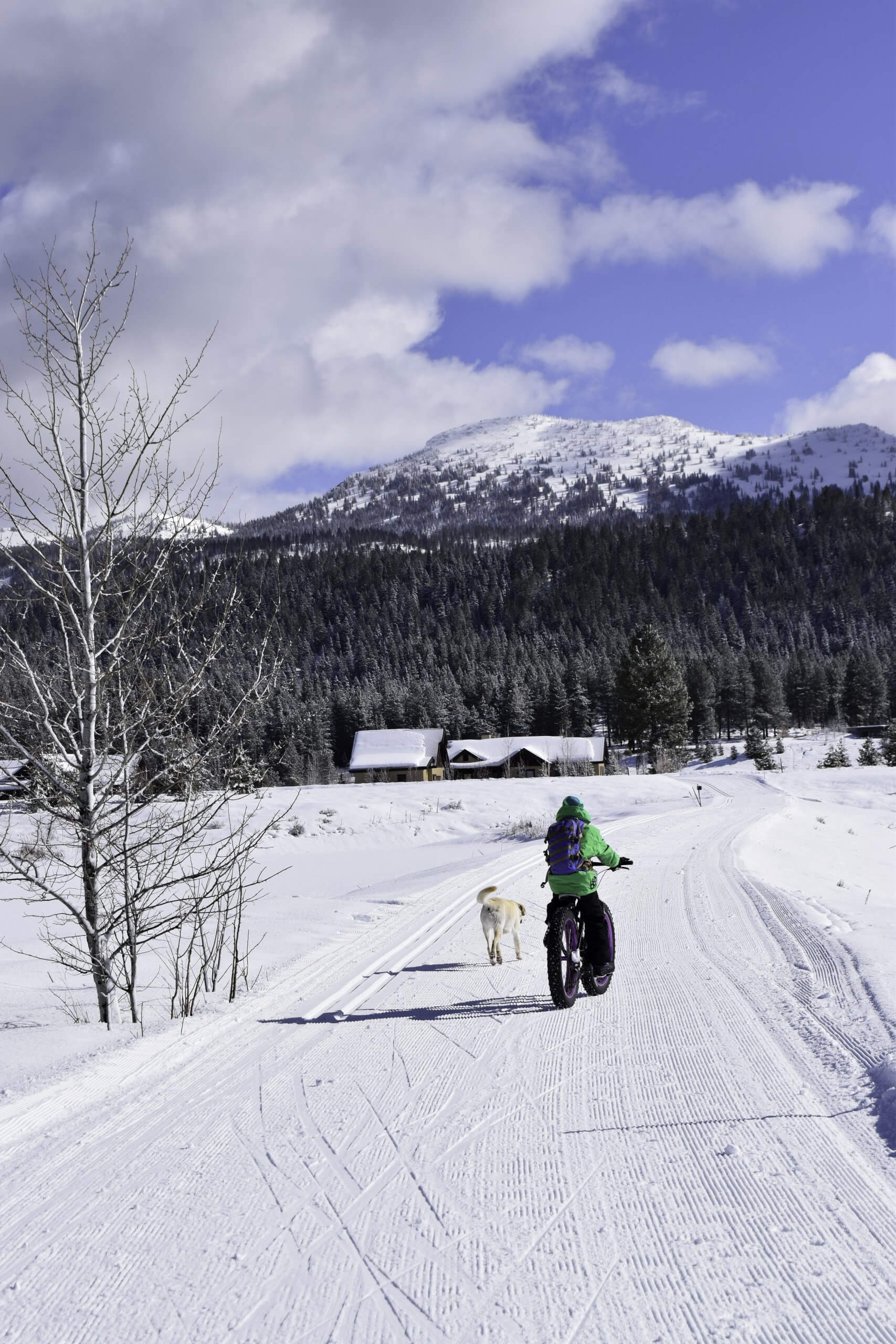 Jug Mountain Ranch offers plenty of easy, wide trails perfect for families. Photo Credit: Christina McEvoy.