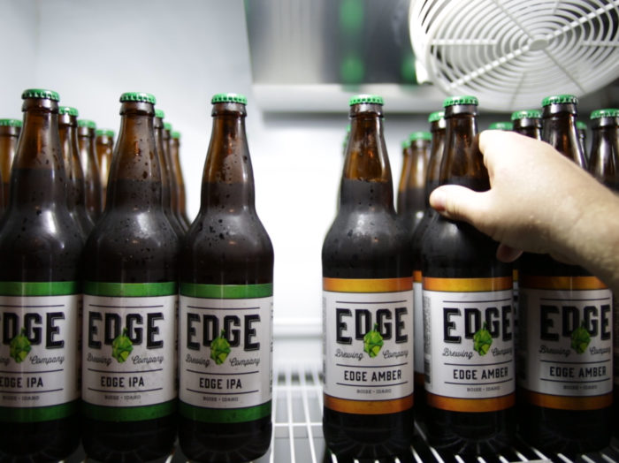 Edge Brewing Company, Boise. Photo Credit: Idaho Tourism