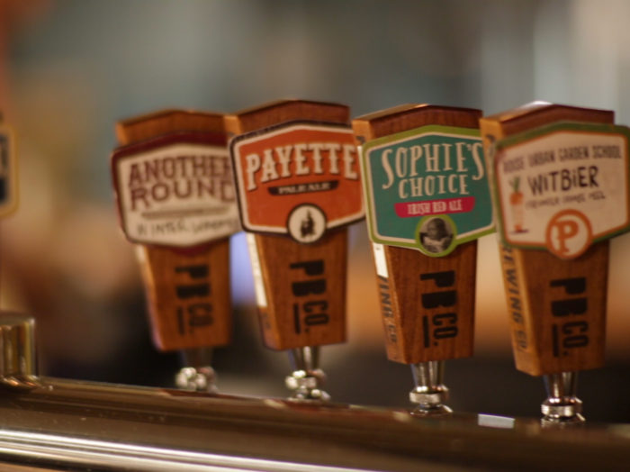 Payette Brewing Company, Boise. Photo Credit: Idaho Tourism.