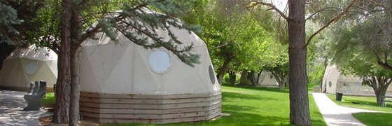 domes for camping