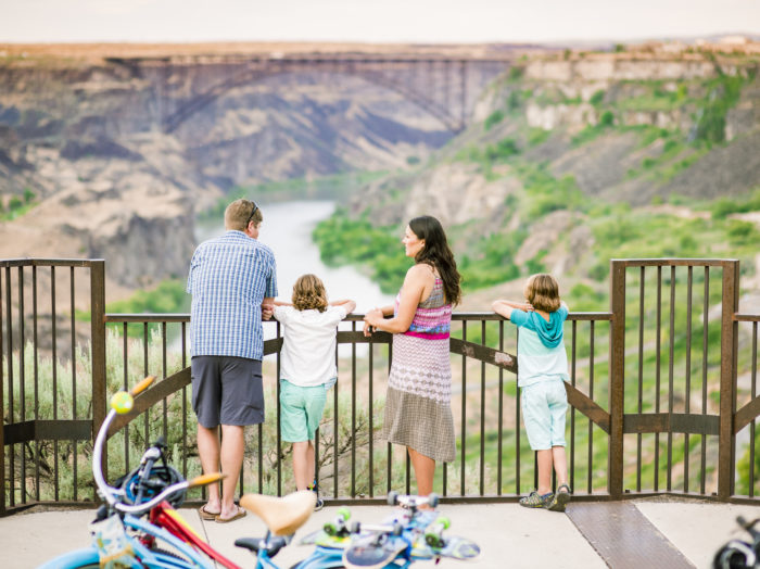 Perrine Bridge, Twin Falls. Photo Credit: Idaho Tourism