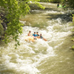 Tubing, Portneuf River, Lava Hot Springs. Photo Credit: Idaho Tourism.