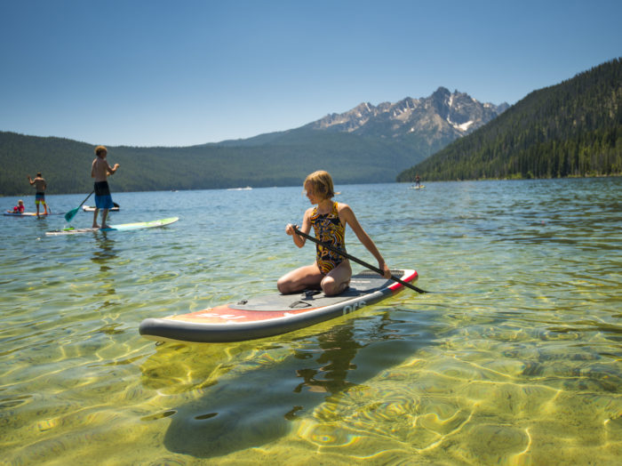 Redfish Lake, Stanley. Photo Credit: Idaho Tourism.
