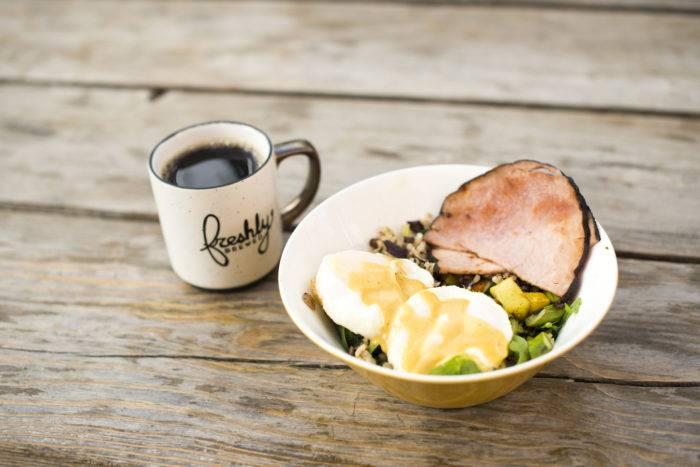 breakfast food and coffee