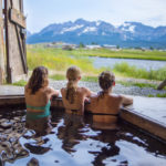 Mountain Village Resort Private Hot Springs, Stanley. Photo Credit: Idaho Tourism.