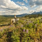 Horseback riding in the Sawtooths. Photo Credit: Idaho Tourism.