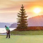 Golfing, Coeur d'Alene Golf Resort, Coeur d'Alene. Photo Credit: Idaho Tourism