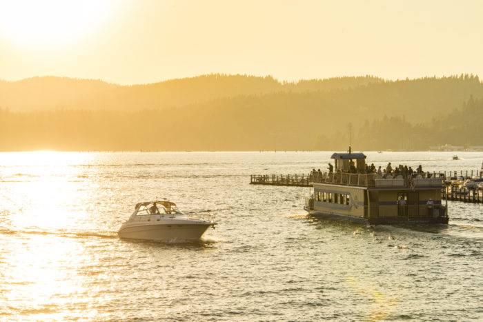 Lake Cruise Boat, Coeur d'Alene. Photo Credit: Idaho Tourism