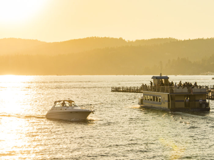 Lake Cruise Boat, Coeur d'Alene. Photo Credit: Idaho Tourism