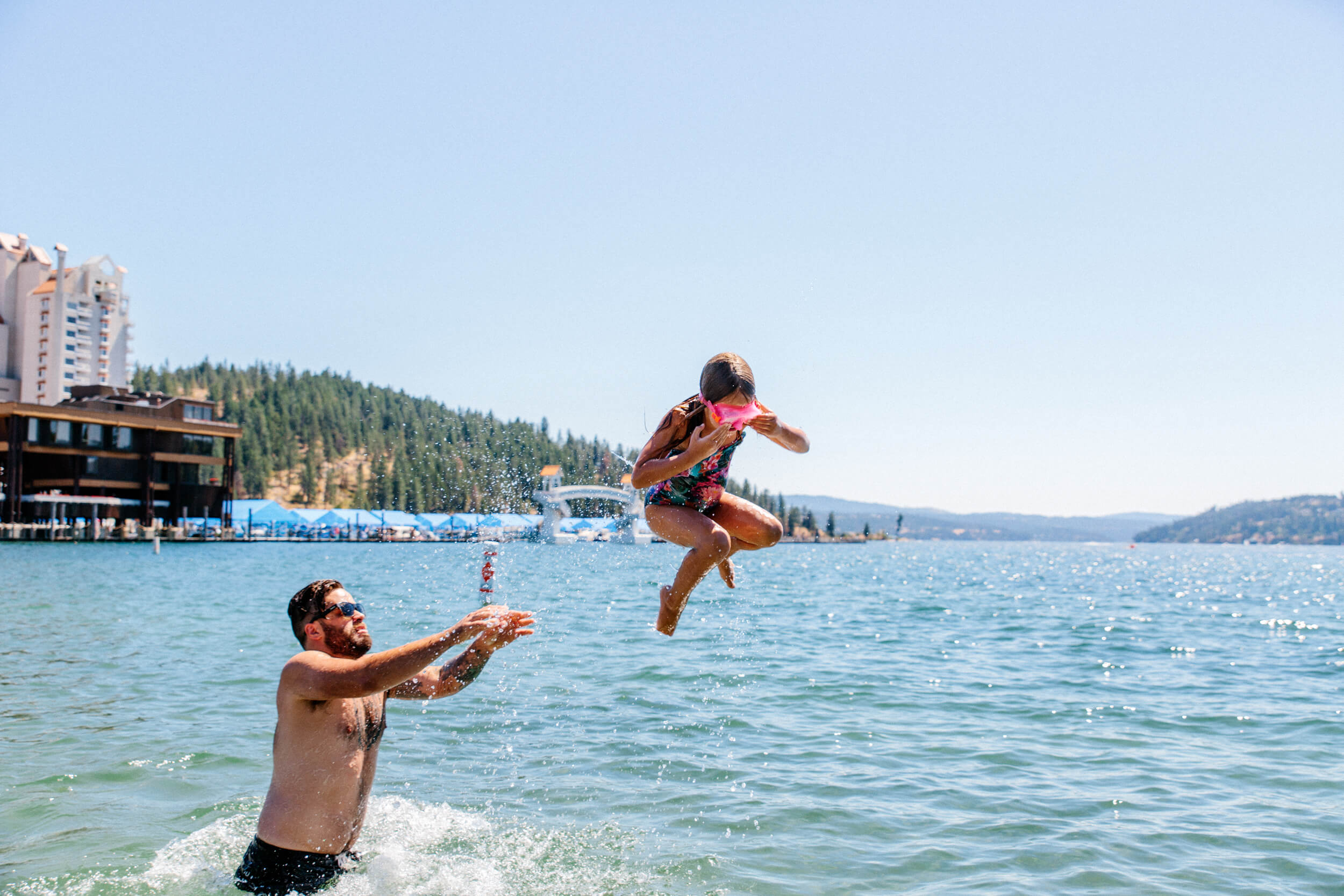Lake Coeur d'Alene, Coeur d'Alene. Photo Credit: Idaho Tourism