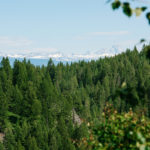 Teton Scenic Byway, Near Victor. Photo Credit: Idaho Tourism.