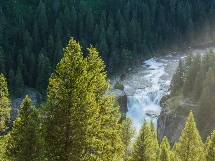 Lower Mesa Falls, Ashton. Photo Credit: Idaho Tourism.