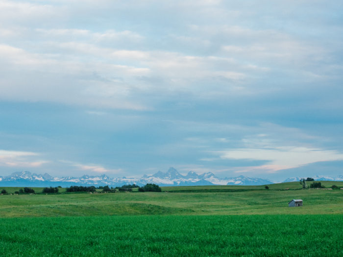 Teton Scenic Byway, Near Victor. Photo Credit: Idaho Tourism.