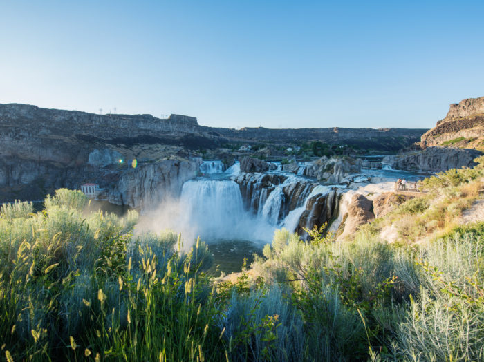 Shoshone Falls, Twin Falls. Photo Credit: Idaho Tourism.