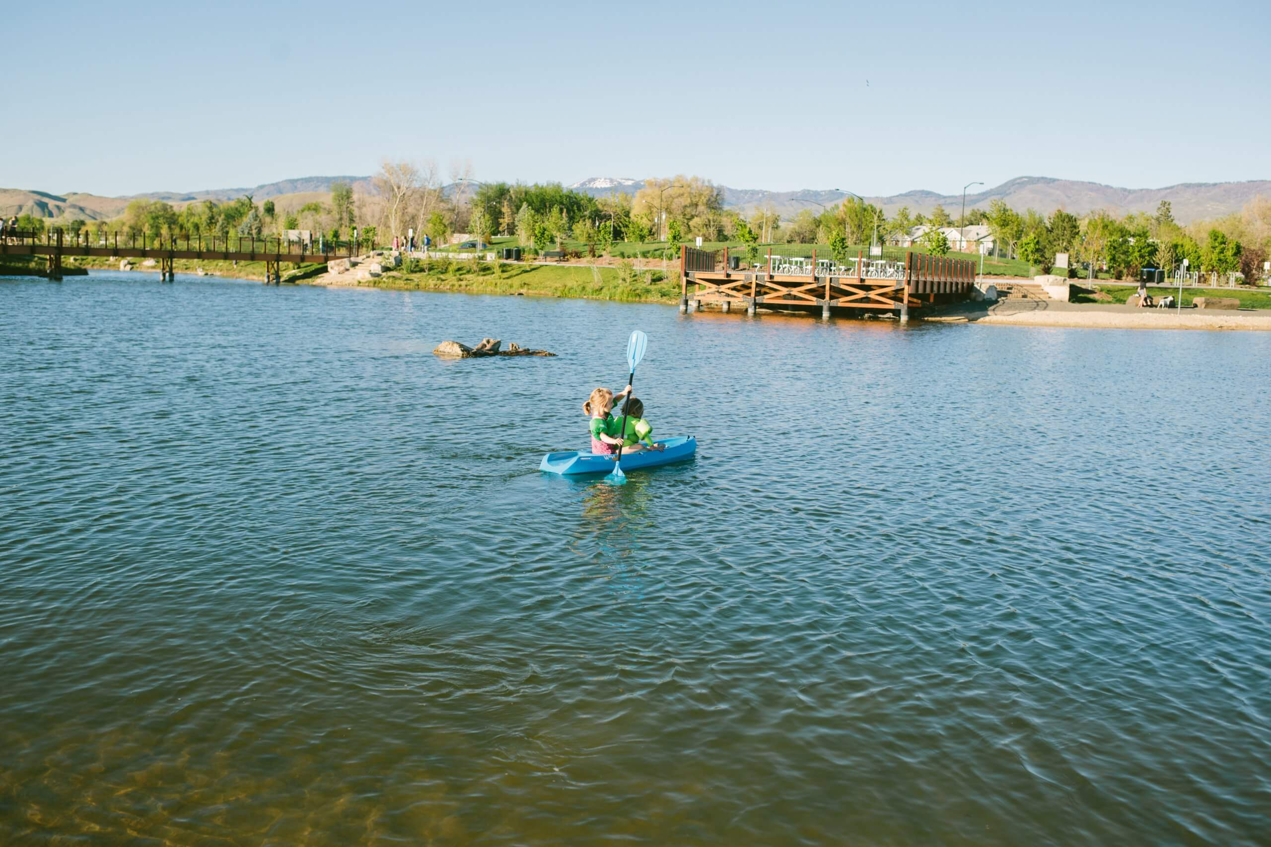Esther Simplot Park, Boise. Photo Credit: Idaho Tourism.