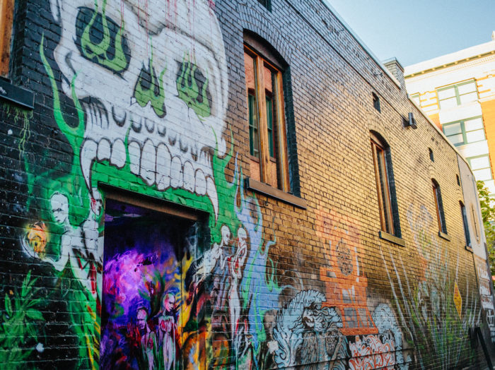 Freak Alley, Boise. Photo Credit: Idaho Tourism.