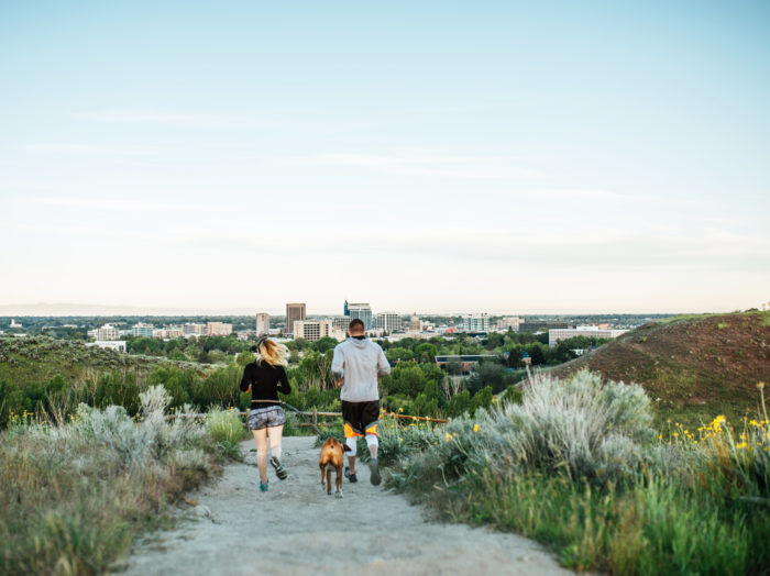 Military Reserve, Boise. Photo Credit: Idaho Tourism.