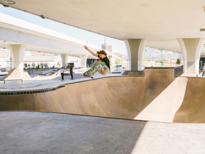 Rhodes Skate Park, Boise. Photo Credit: Idaho Tourism.