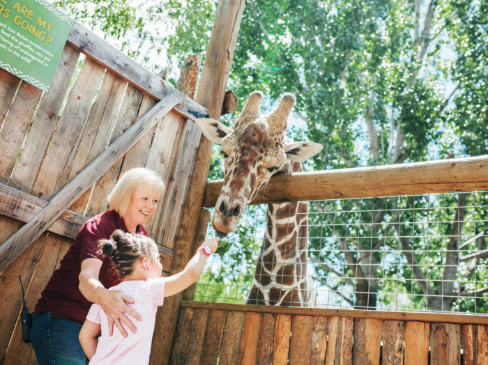 Zoo Boise, Boise. Photo Credit: Idaho Tourism.