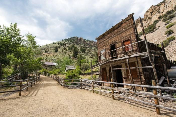 Bayhorse Ghost Town, Near Challis. Photo Credit: Idaho Tourism