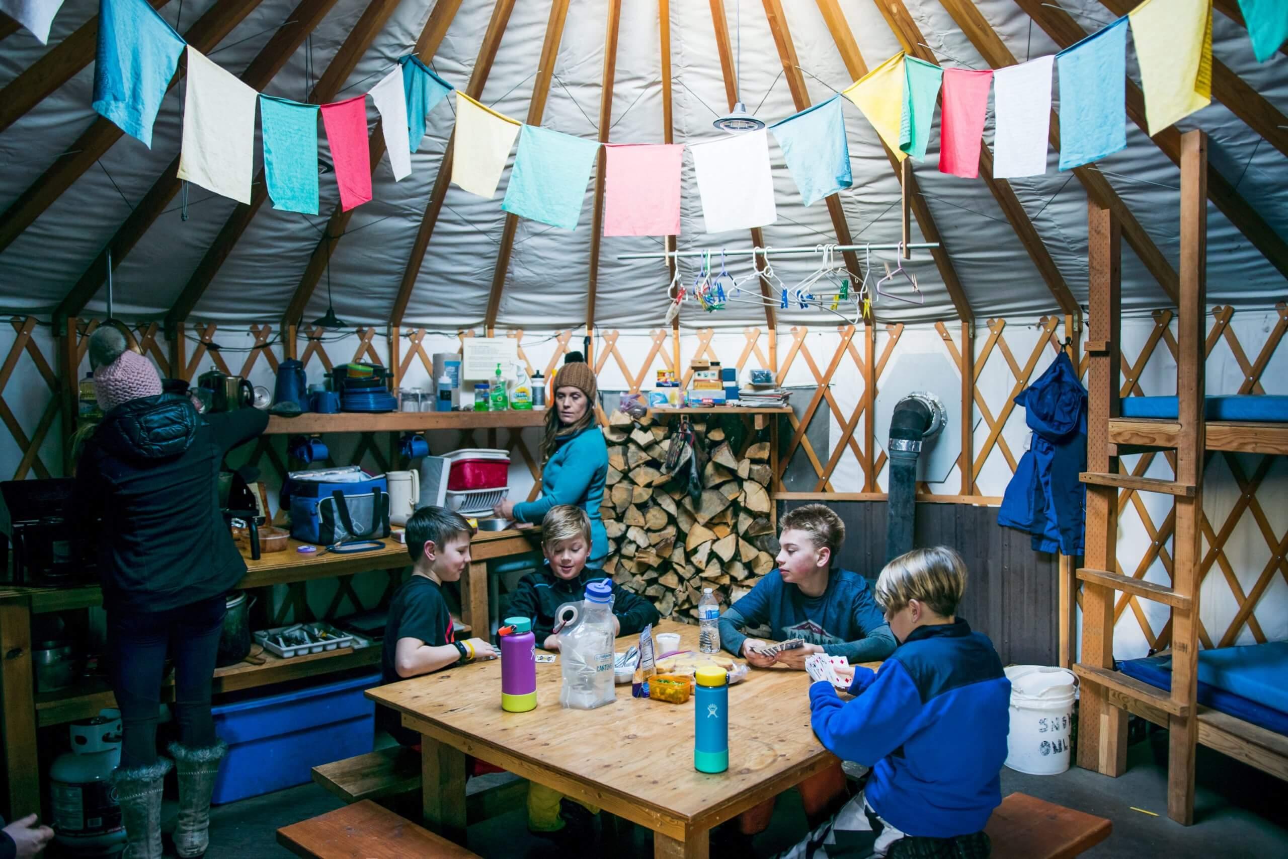 A Winter Weekend Yurt Adventure At Galena Lodge Visit Idaho