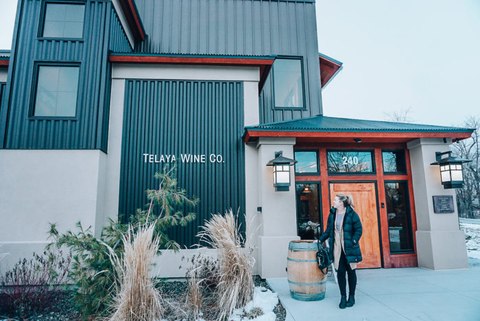 exterior of winery
