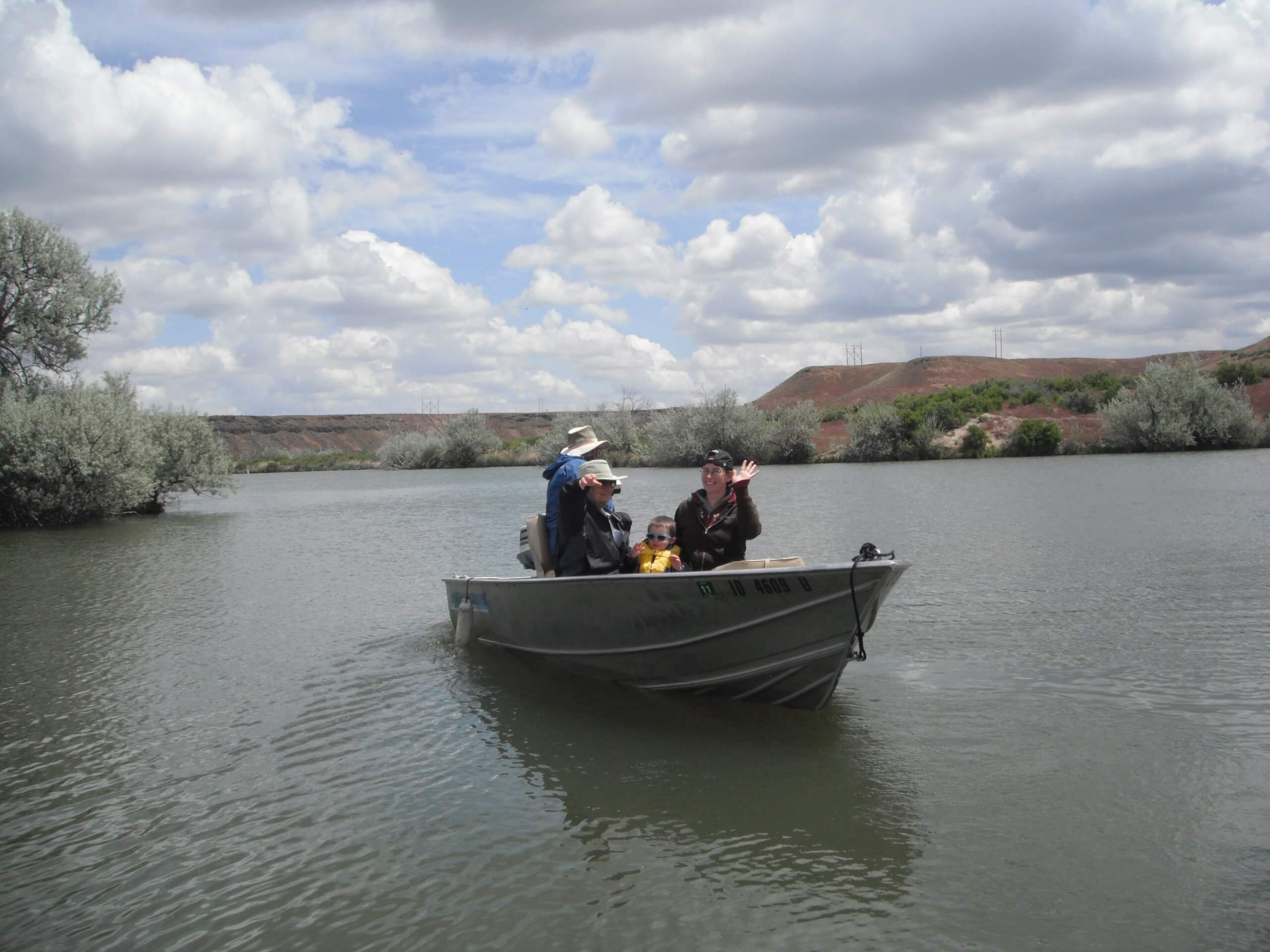 Try your hand at bass fishing at CJ Strike. Photo Credit: Mike McKenna.